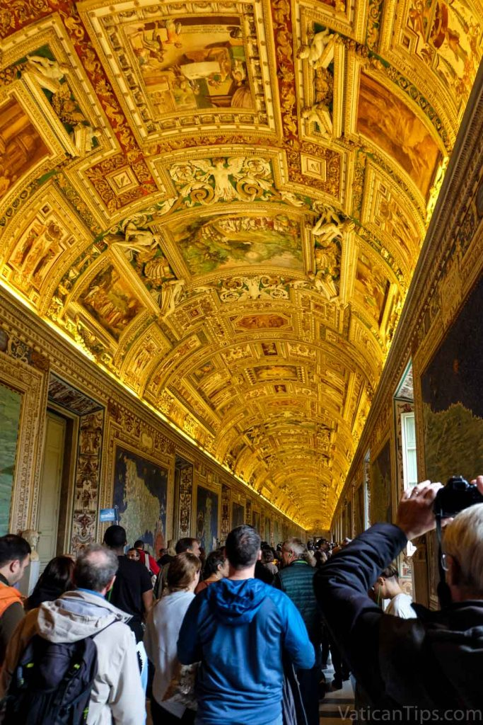 gallery of the maps hall in Vatican