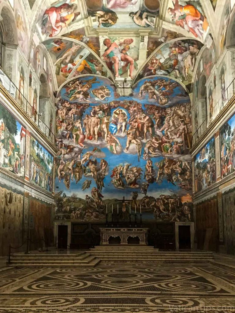 The Last Judgement Sistine Chapel