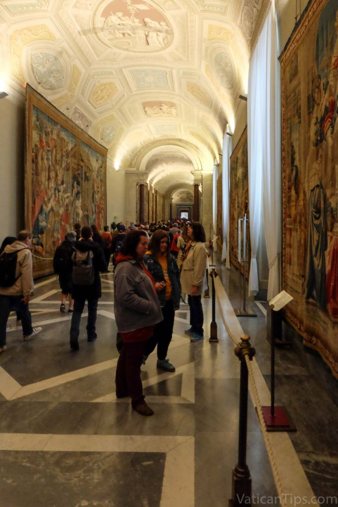 gallery of the tapestries vatican