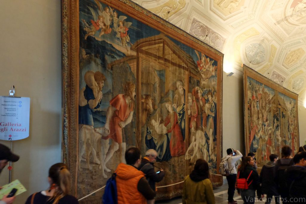room of the tapestries at the Vatican