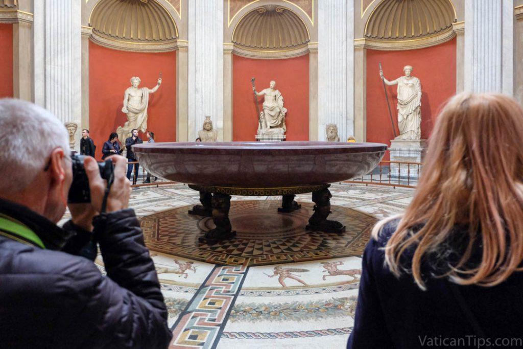 nero's bathtub at vatican