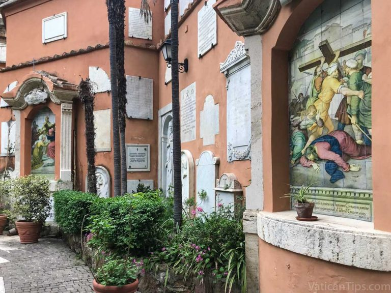The Teutonic Cemetery at the Vatican