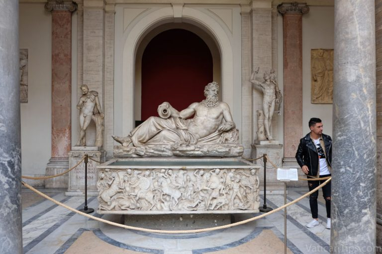 The Vatican's Octagonal Courtyard