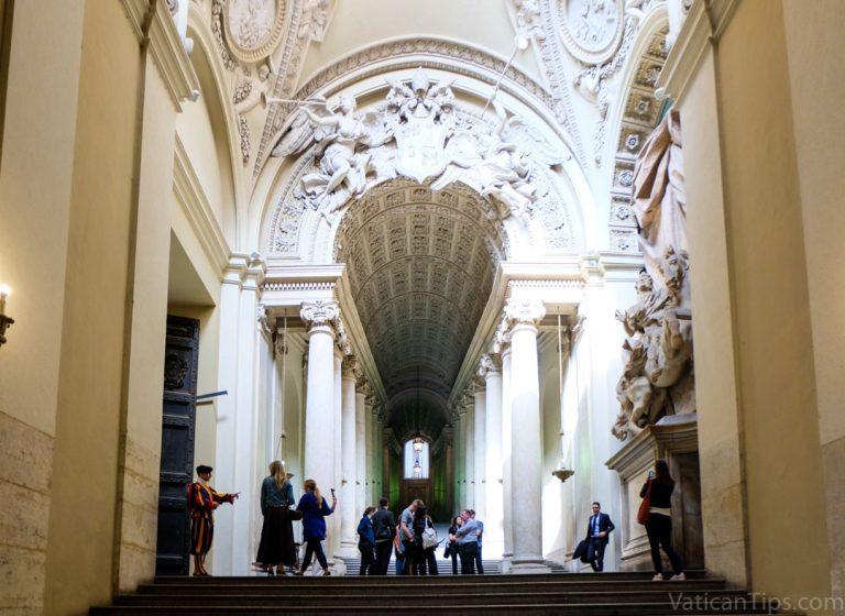 Bernini's Scala Regia at the Vatican